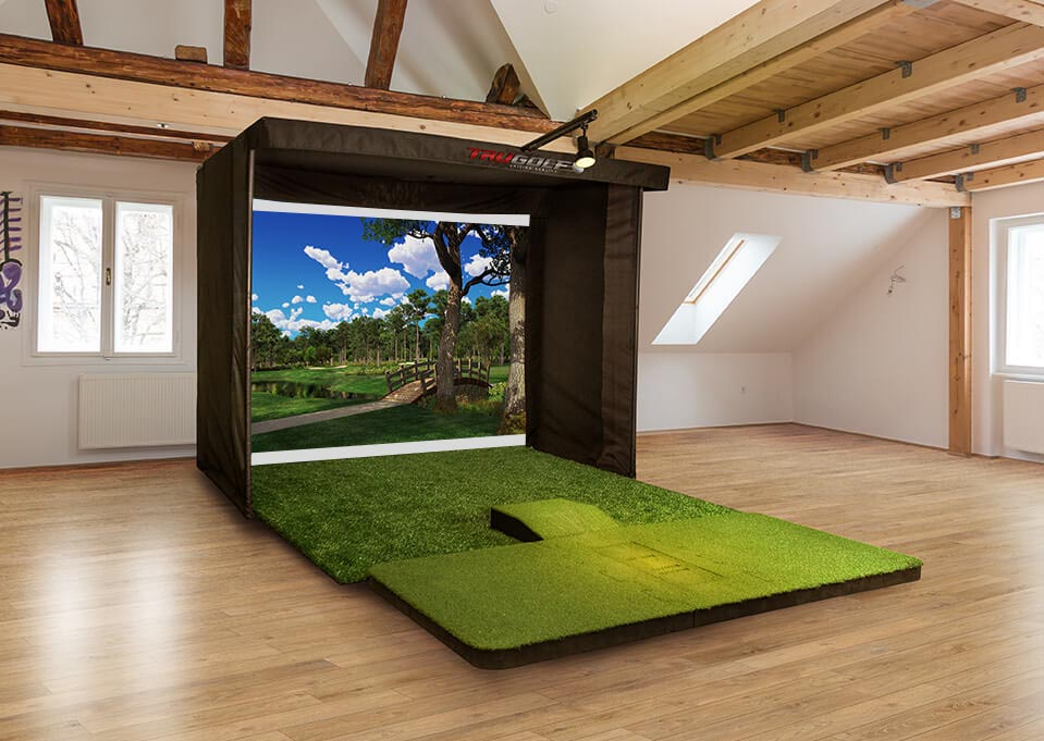 Portable Golf Simulator Front View