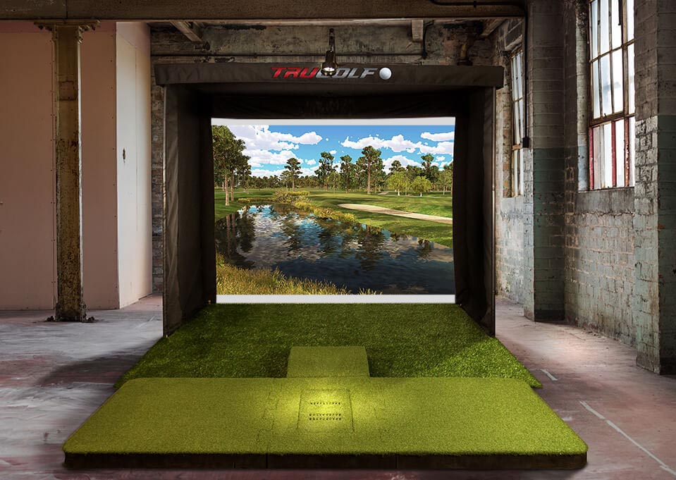 Golf Simulator in Commercial Space