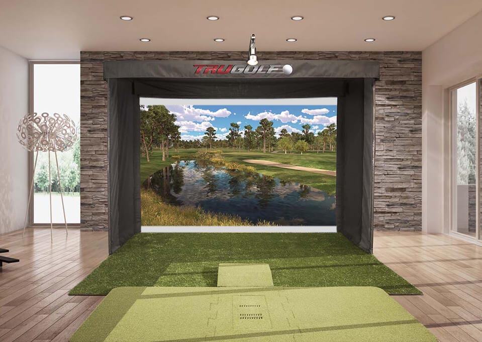 Golf Simulator in Home 2
