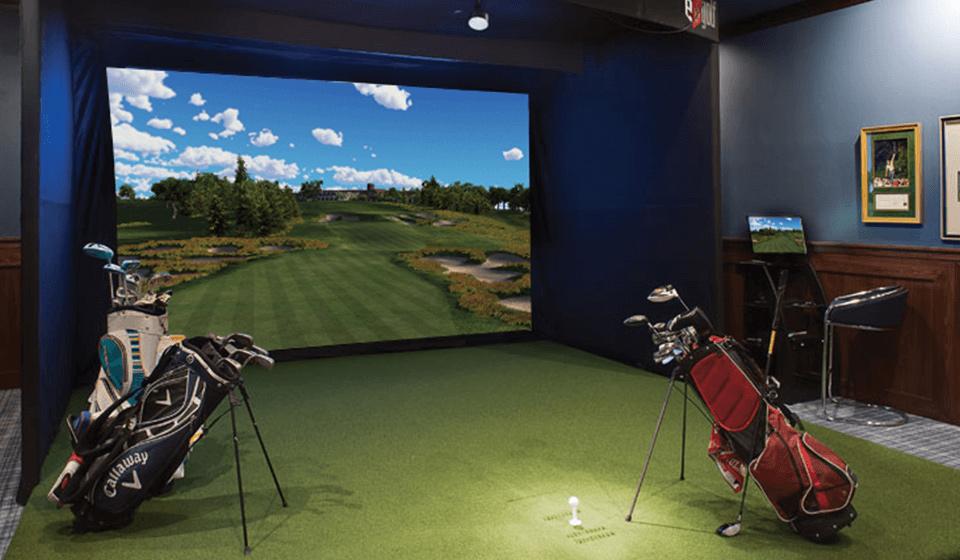 Signature модель гольф симулятора